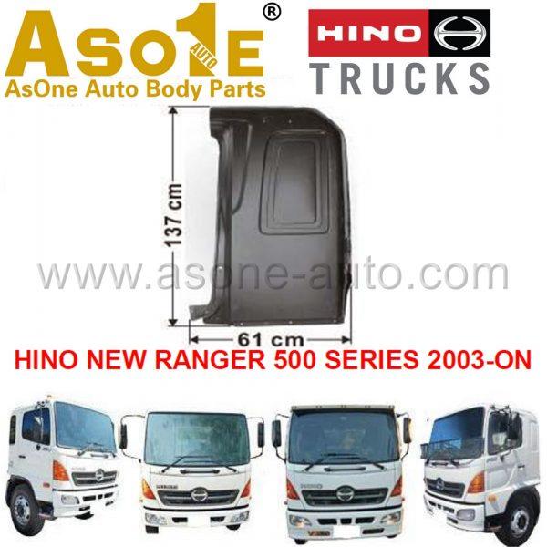 AO-HN03-103S REAR PILLAR OUTER FOR HINO NEW RANGER 500 SERIES 2003-ON