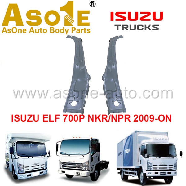 AO-IZ02-116 FRONT PILLAR INNER UPPER FOR ISUZU 700P NKR NPR 2009-ON