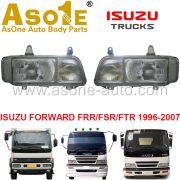 AO-IZ10-307 HEAD LAMP FOR ISUZU FORWARD FRR FSR FTR 1996-2007