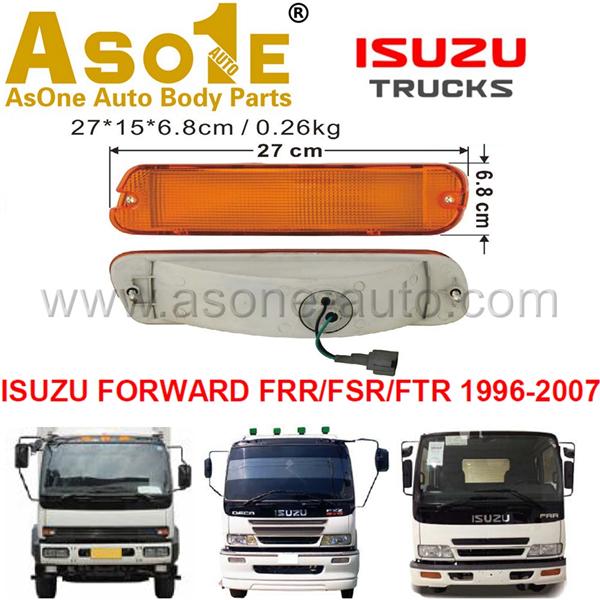 AO-IZ10-312 FRONT LAMP FOR ISUZU FORWARD FRR FSR FTR 1996-2007