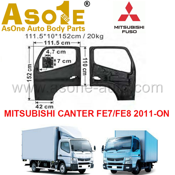 AO-MT02-101 DOOR SHELL FOR FOR MITSUBISHI CANTER FE7 FE8 2011-ON