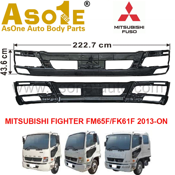 AO-MT06-103 FRONT BUMPER FOR MITSUBISHI FIGHTER FM65F FK61F 2013-ON
