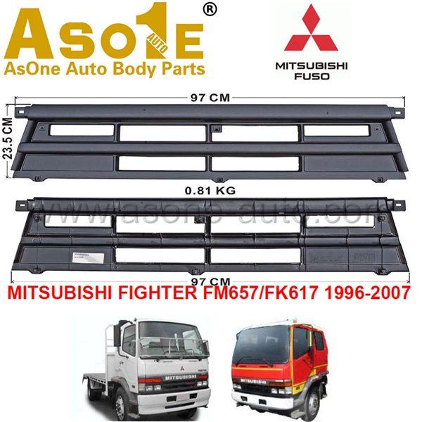 AO-MT08-204 GRILLE CENTER FOR MITSUBISHI FIGHTER FM657 FK617 1996-2007