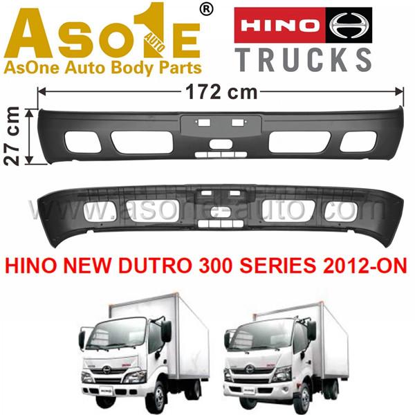 AO-HN01-203 FRONT BUMPER FOR HINO NEW DUTRO 300 SERIES 2012-ON