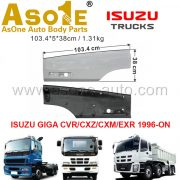 AO-IZ06-224 DOOR GARNISH LOWER FOR ISUZU GIGA CVR CXZ CXM EXR 1996-ON