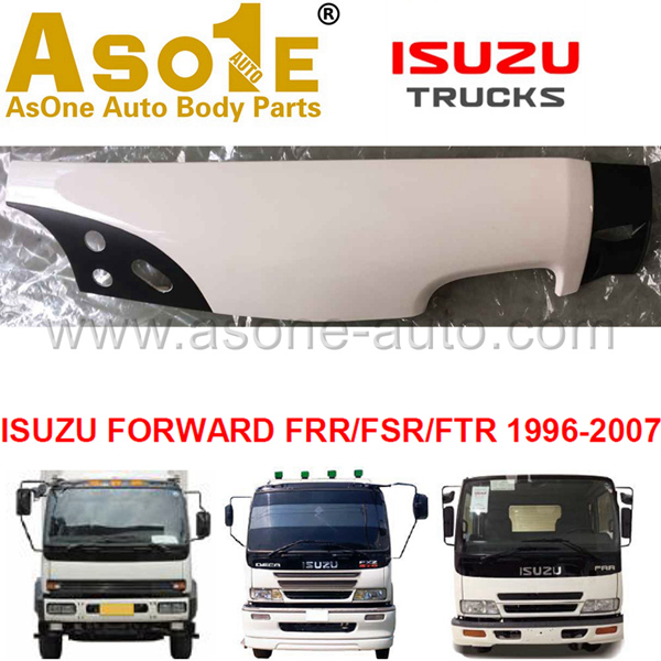 AO-IZ10-209 CORNER PANEL FOR ISUZU FORWARD FRR FSR FTR 1996-2007